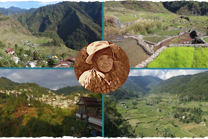 4 rice terrace hiking tour in different places in the Cordilleras