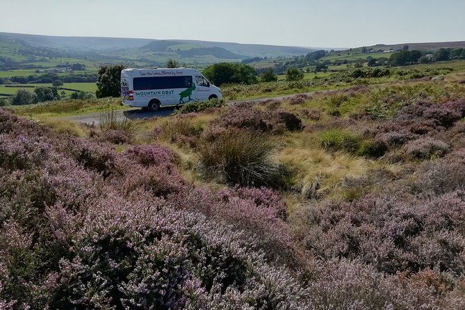 Private Tour: North Yorkshire Moor and Whitby from York in 16 Seater Minibus