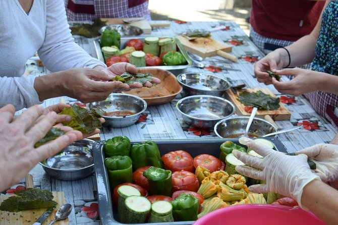 Authentic Cretan cooking class and Wine tasting experience in Chania