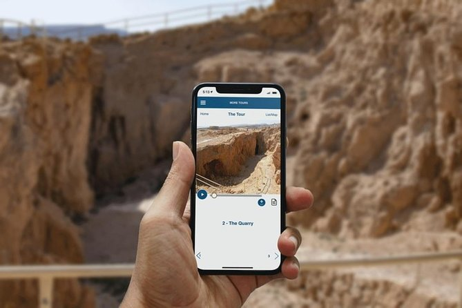 Story of the Masada Fortress, Israel, Self-Guided Audio Tour