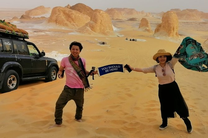 3 Days White & Black Deserts Safari Trip & Cairo Transfer Round Trip