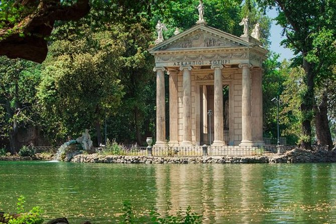 """Tour of Rome """"Villa Borghese"""" with high quality E-Scooter!"""