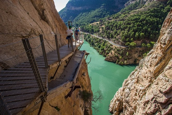 Dare to take a walk along the Caminito del Rey path private tour from Malaga