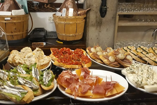 Venice Street Food Tour with Local Food Market Visit,with Spanish-speaking guide