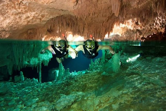 DISCOVER a Secret River near Tulum with Snorkel Equipment, Buffet and Drinks