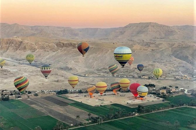 One Package Sunrise Hot Air Balloon Ride in Luxor and West Bank Private Tour
