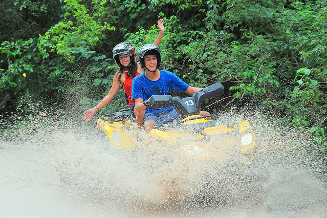 ENJOY the ADRENALINE RUSH of this Super Snorkeling Tour, ATVs and zip lines
