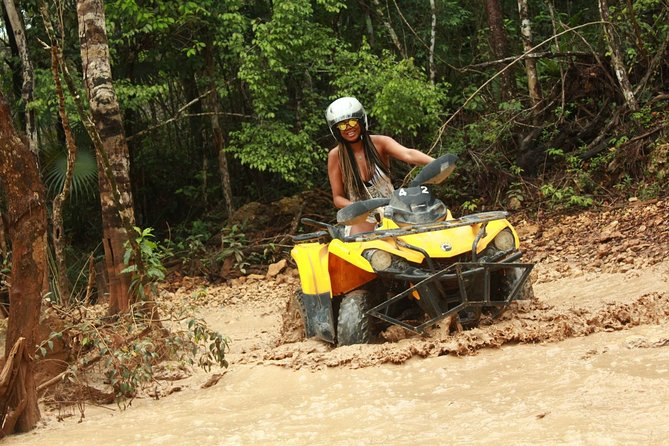 ENJOY A TOUR to Tulum with POWERFUL ATVs and an Underground Cenote with Buffet