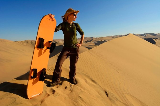 #1 Sandboarding & Dune Buggy & Huacachina Oasis - from Lima (Small Group)