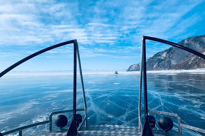 Baikal BLUE ICE - Olkhon Island 3 days trip with group
