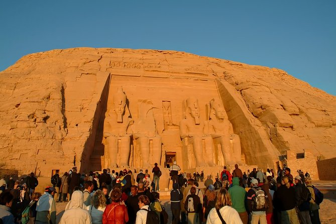 Abu Simbel Temple Private Tour from Aswan by Plane