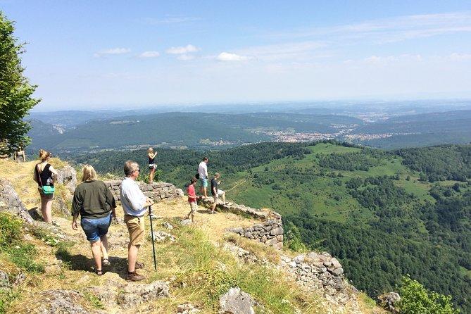 Day tour to Mirepoix, Montségur, Foix. Shared tour from Carcassonne.
