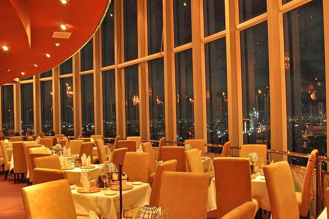 Private Tour: Dinner at the largest revolving restaurant in the world