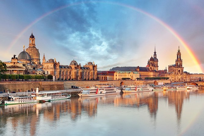Discover the old city of Dresden on a private walking tour