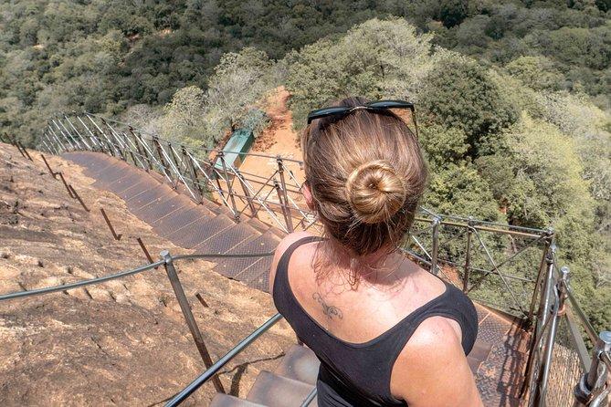 Trip to Sigiriya Rock and Dambulla Cave Temple