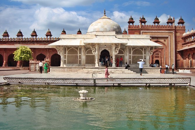 Taj Mahal Agra Day Tour with Fatehpur Sikri From Delhi by AC Car -All Inclusive