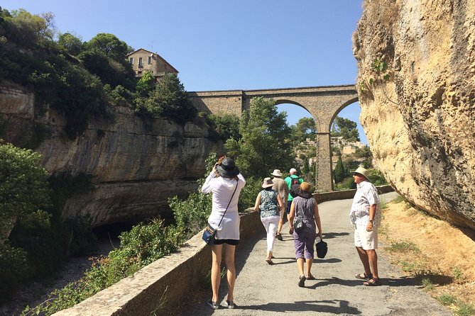 Shared tour to Lastours, wine tasting, Minerve, Canal du Midi. From Carcassonne