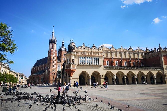 Kraków & Wieliczka Salt Mine Full-Day Trip from Warsaw