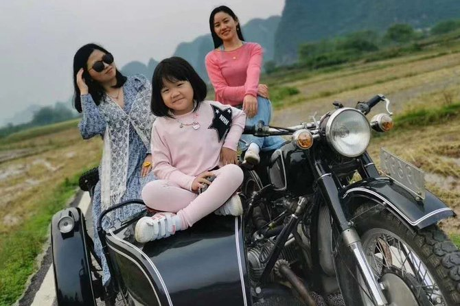 Half-Day Private Tour: Yangshuo Sidecar Tour from Guilin hotel