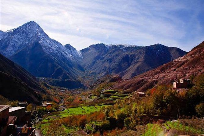 Three Valleys and the Atlas Mountains with Camel Ride and Lunch from Marrakech