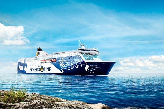 Helsinki to Tallinn self guided tour return Cruise tickets