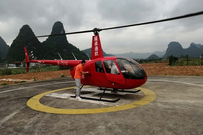 Yangshuo Helicopter Tour from Yangshuo hotel