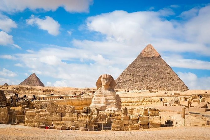 Cairo: Half Day Giza Pyramids & Sphinx Guided Tour with Camel Ride