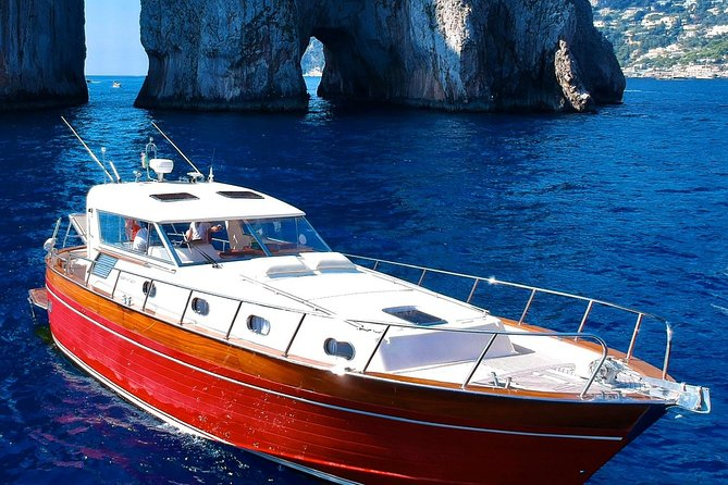 Capri Relax Day tour by boat from the Sorrento Coast