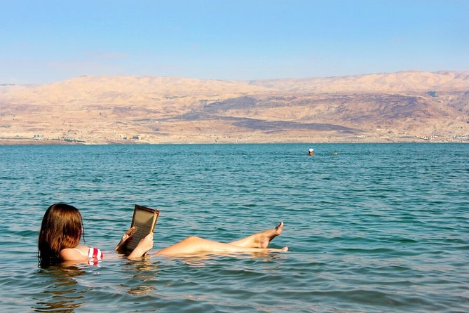 Dead Sea relaxation day from Jerusalem