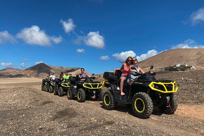 3 Hours Guided Quad Tour in Lanzarote