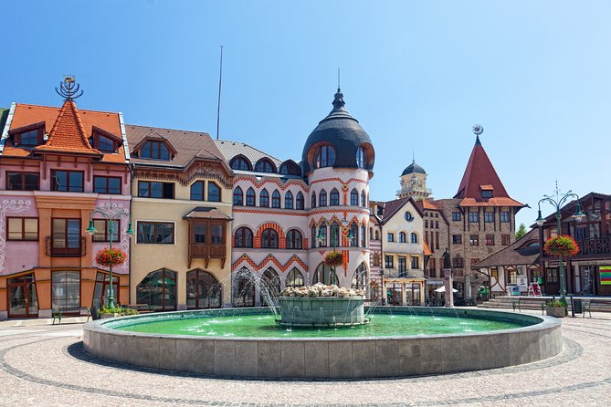 The best of Komarno walking tour