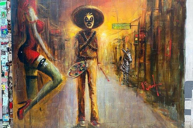 Walking Tijuana Art hop from San Diego