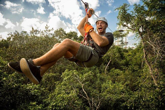 DARE an FULL ADVENTURE in the JUNGLE. Bungee, Tarzania, Ziplines, ATV and more