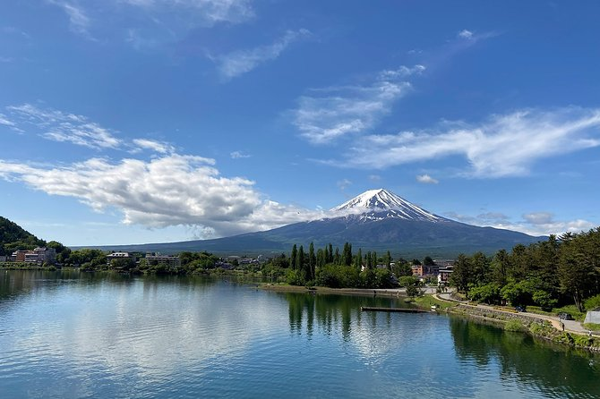 Breathtaking Mt Fuji views easy bike tour at Kawaguchiko, Fuji Five Lakes