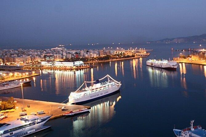 Piraeus port to Athens center