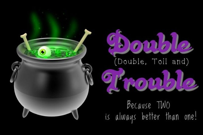 Double Trouble Combination Pass (History & Ghost Tours)