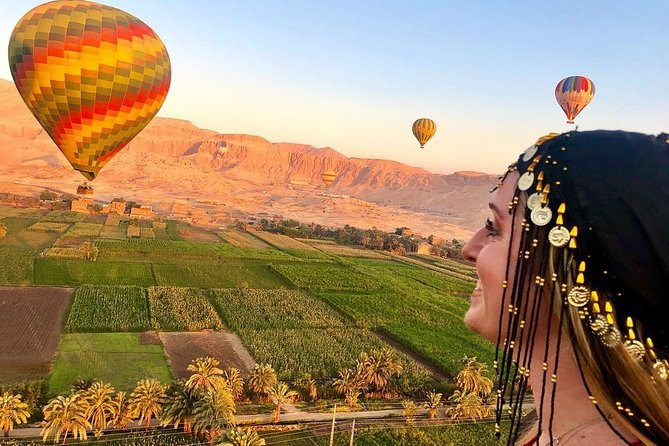 Overnight Trip to Luxor with Hot Air Balloon and Banana Island From Marsa Alam