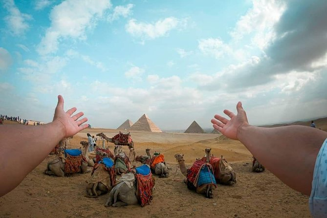 Cairo tour/ Layover from Cairo airport to Giza Pyramids & Sphinx (flexible day)
