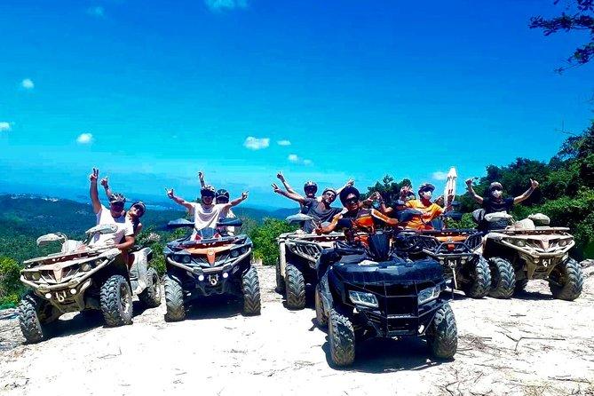 Koh Samui ATV Safari 2 Hours Tour (Jungle Ride, Mountain Viewpoint, Waterfall)