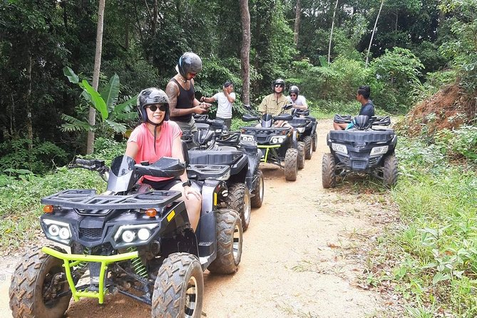 Mini ATV Safari 1 Hours Jungle Adventure Tour on Koh Samui