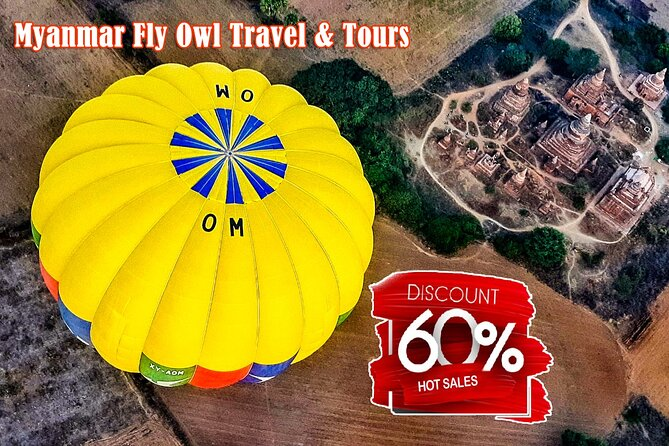 60% OFF STT Balloon Over Bagan Ticket
