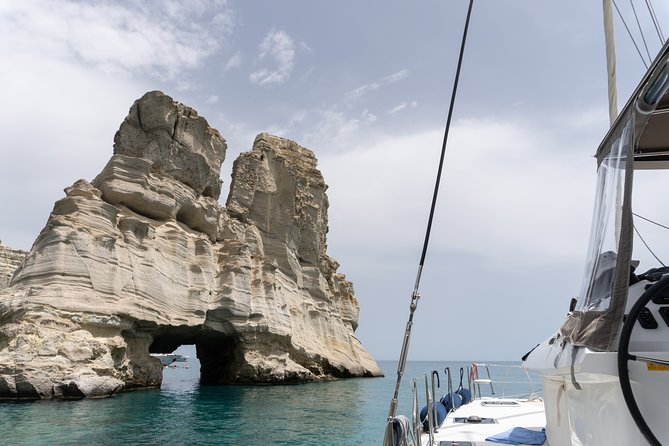 Full-Day Small-Group Cruise in Milos Island with Lunch