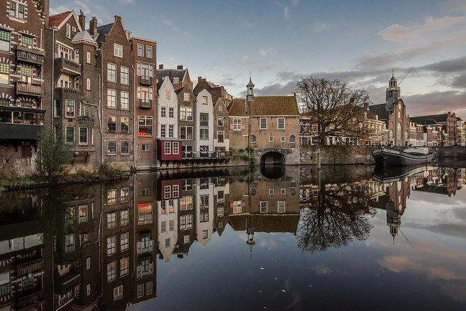 Explore Rotterdam's history and architecture on private walking tour