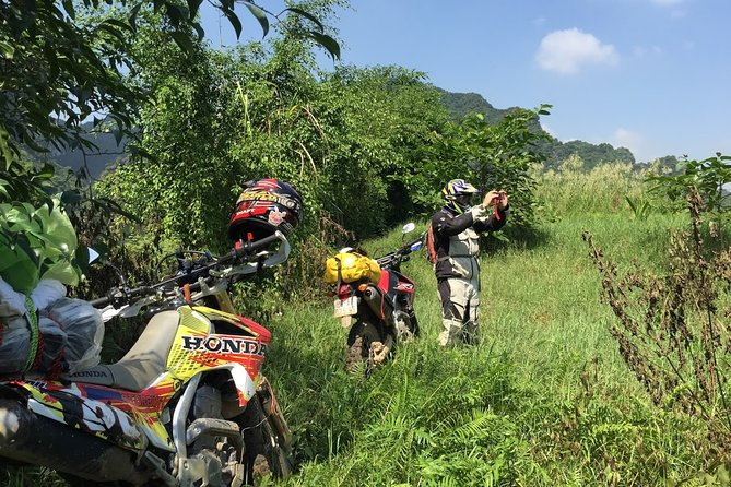 Vietnam Motorcycle Trip from Hanoi To Cuc Phuong National Park - 1 day