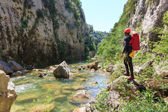 Cetina River Extreme Canyoning Adventure from Split or Zadvarje