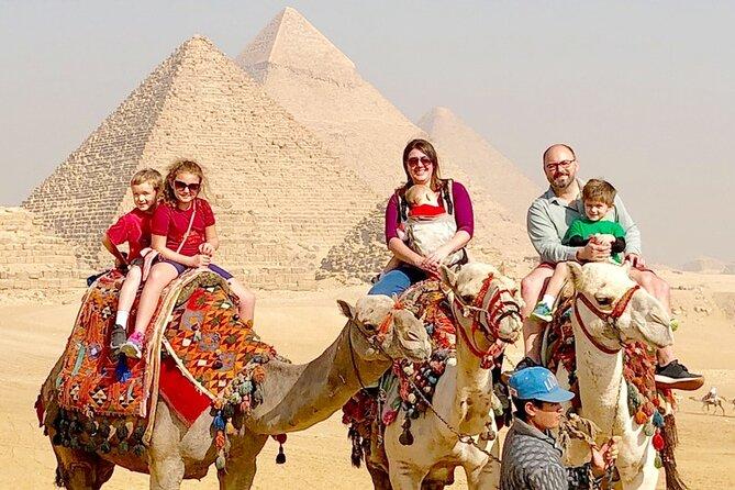 Giza Pyramids ,Sphinx , Sakkara & Memphis Full-Day Private Guided Tour