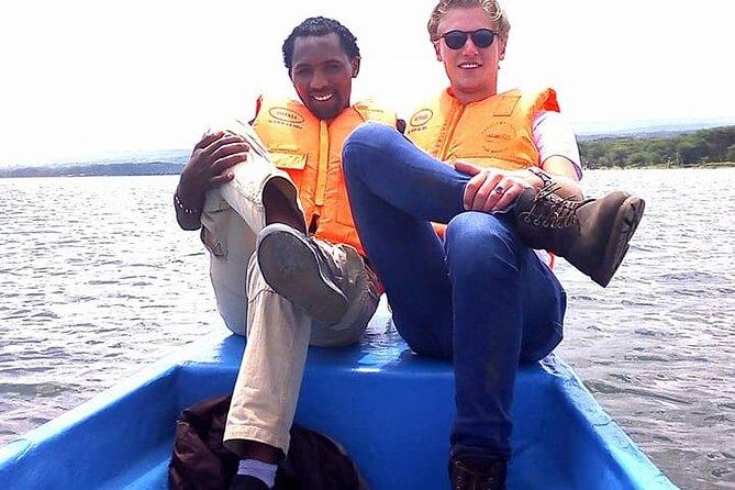 Hell's Gate and Lake Naivasha Boat Ride Guided Tour from Nairobi