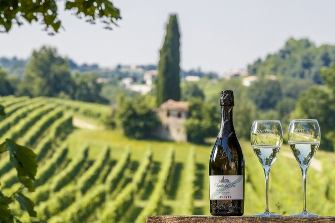 Wine and food experience at the estate in Valdobbiadene hills