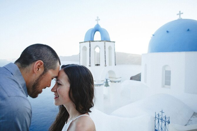 Oia Walking Photo Session