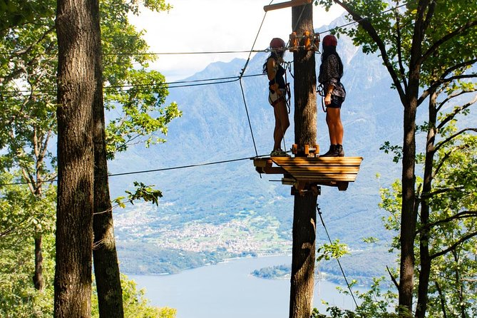 Daily ticket for Lake Como Adventure Park